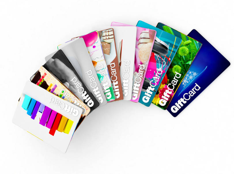 Custom Gift and Loyalty Cards for Retail Stores Group ISO