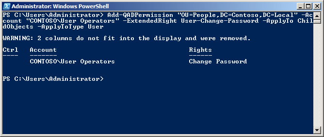 active directory powershell commands pdf
