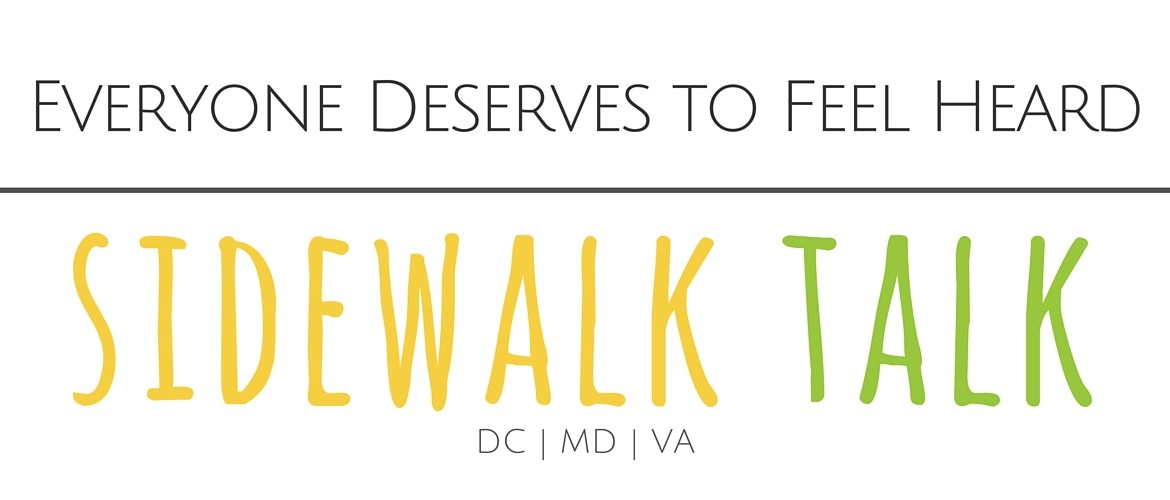 Learn More about Sidewalk Talk - a community listening project