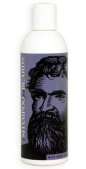A bottle of beard shampoo.