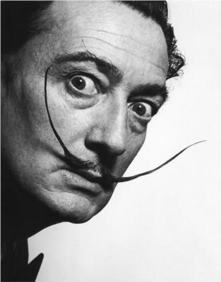 Photo of the Dali mustache.