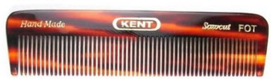 A fine toothed pocket comb for beards.