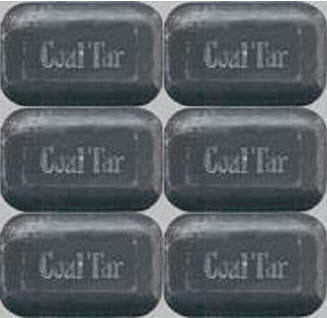 A bar of coal tar beard soap.