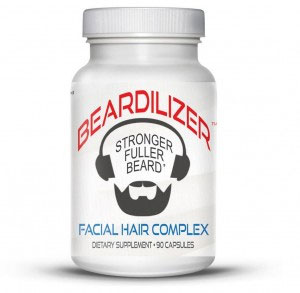 A photo of beardilizer beard vitamins.