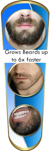 Image of the beard growther serum.