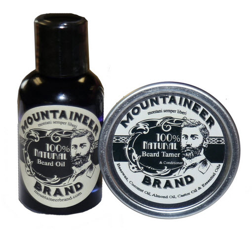 Photo of a beard conditioner set.