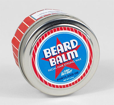 A photo of Man's Face Stuff Beard Wax
