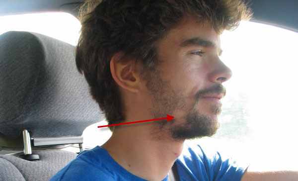 Photo Of A Man With A Patchy Beard.