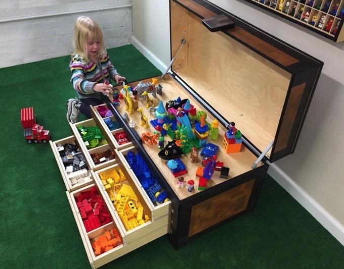 Larscraft Maker39s Chest A Lego Toy Storage Solution