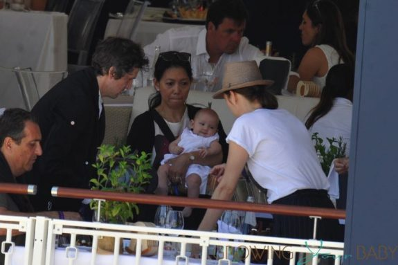 Marion Cotillard Steps Out With Her Kids In St Tropez