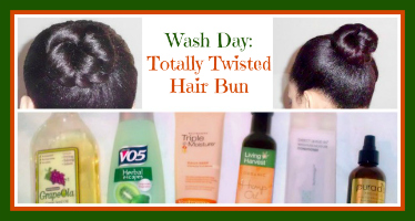 Twisted Hair Bun Wash Day Thumbnail