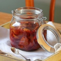 Fig confit and Marsala fig jelly