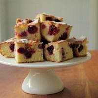 Cherry `bubble` cake