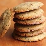 White chocolate coffee cookies