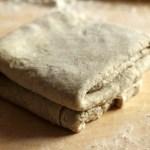 rustic rye dough
