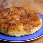 Danish pastry tarte tatin