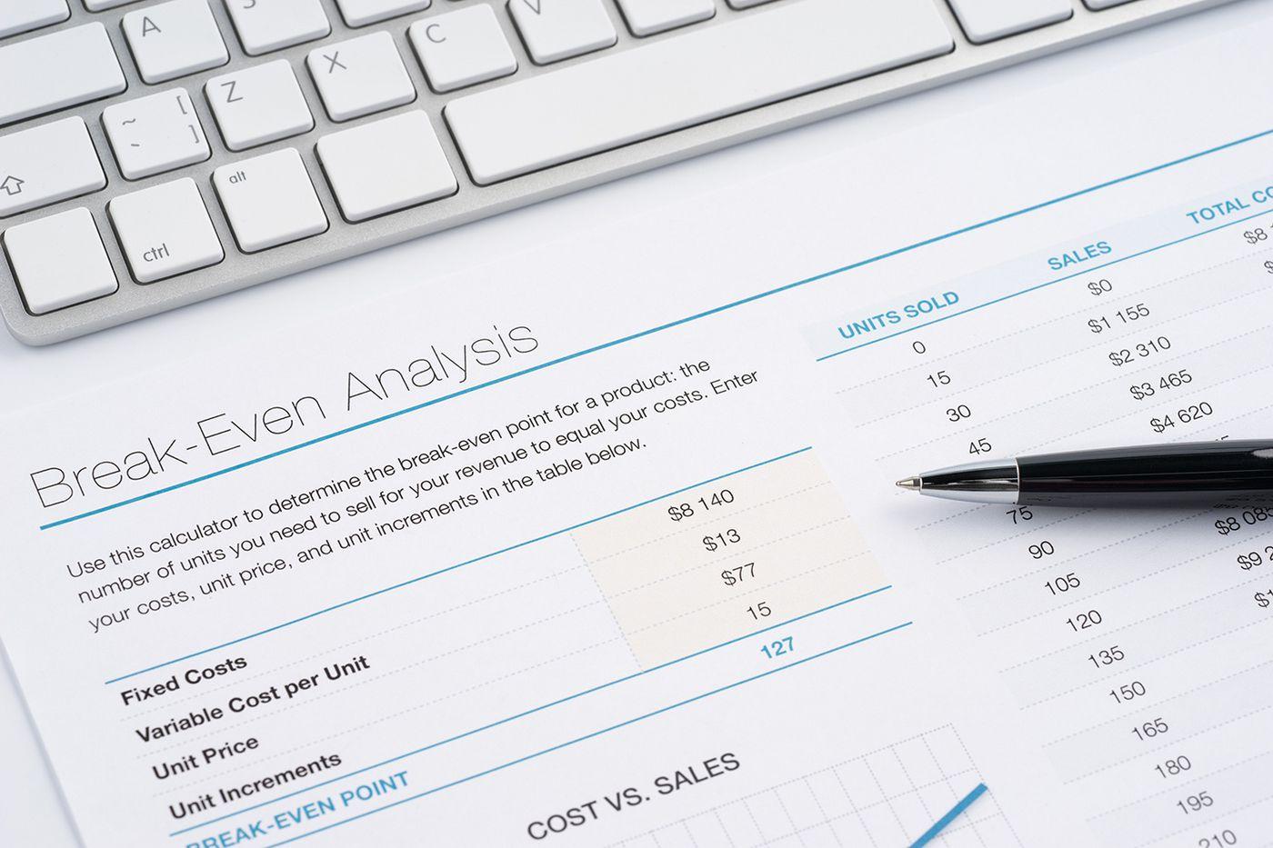 Break-Even Analysis Improving Your Bottom Line