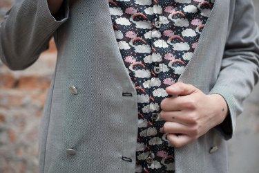 camicia liberty e giacca