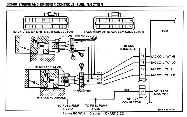 82 corvette ecm wiring diagram