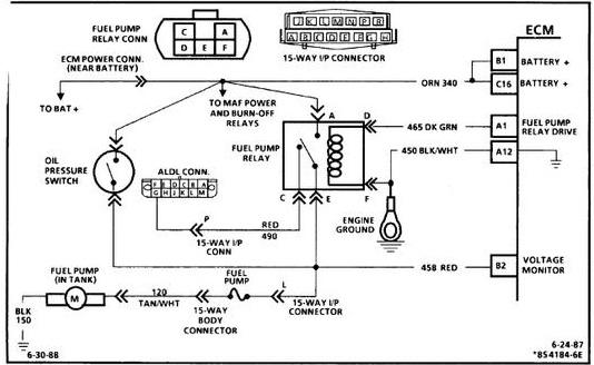 Chevy 350 Tpi Wiring Diagram Wiring Schematic Diagram