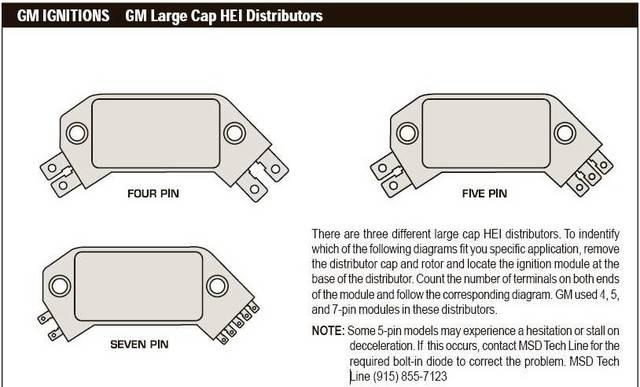 gm 5 pin hei module wiring