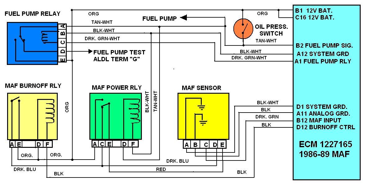 Subaru Maf Sensor Wiring Wiring Diagram