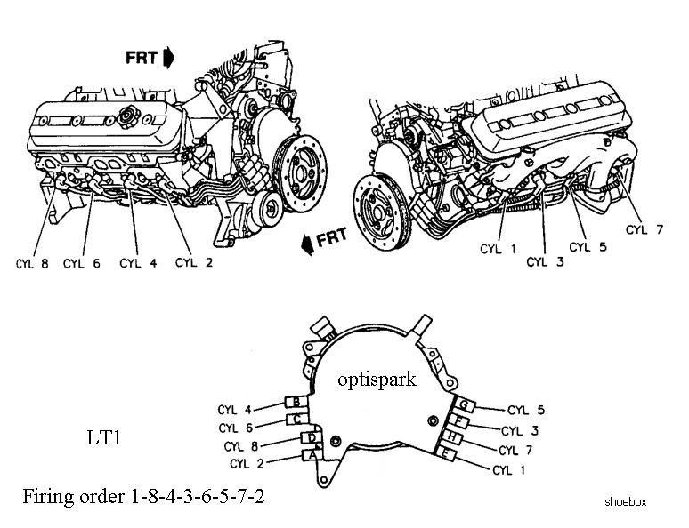 1994 lt1 firing order diagram