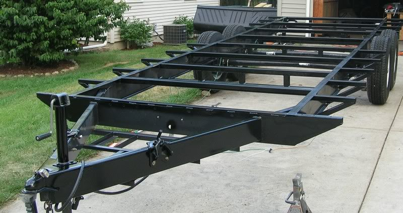 How Many Guys Have Built There Own Car Trailer Grumpys