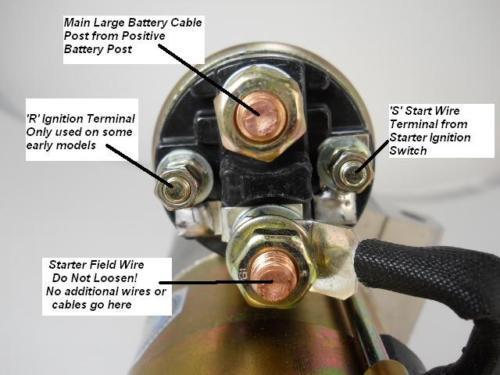 Chevy 350 Starter Wiring Wiring Diagram