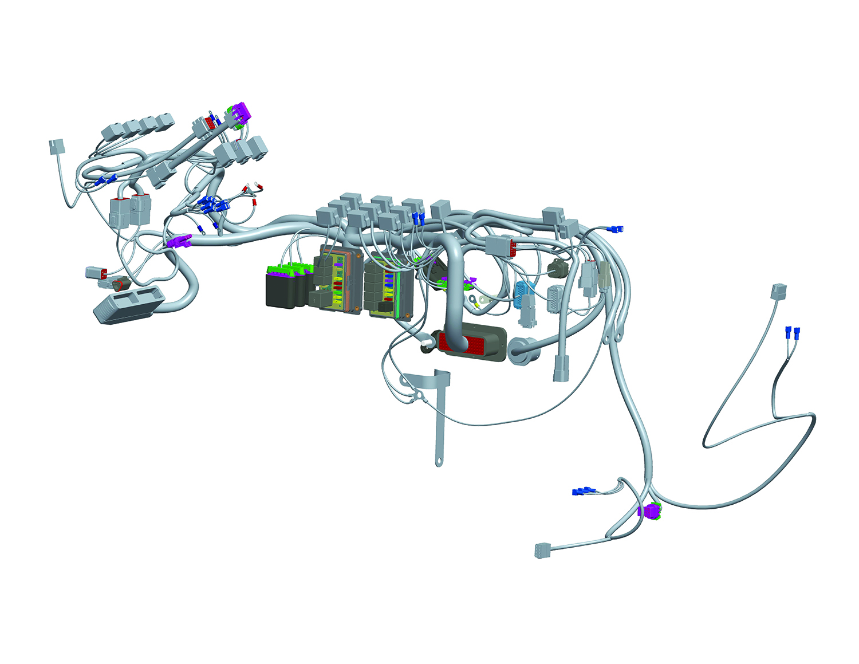 aircraft wiring harness fabrication