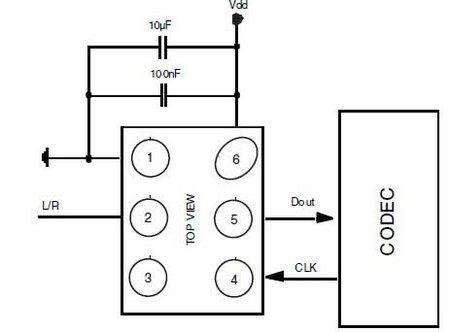 mp45dt01-digital-microphone-schematic IoT M2M blog