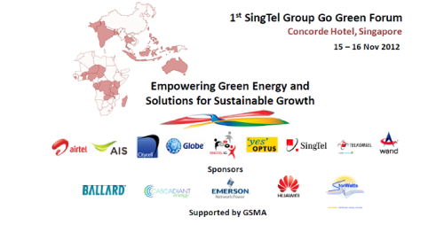 Empowering Green Energy and Solutions for Sustainable Growth at SingTel's Go Green Forum