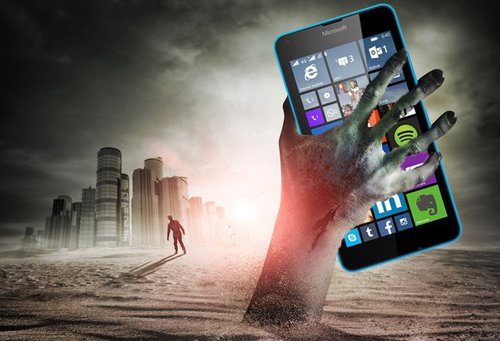 Mobilny Windows to system-zombie / fot. lumiaconversationsuk.microsoft.com
