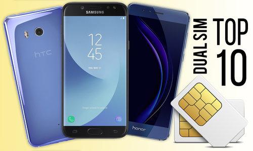 Smartfony dual SIM TOP10