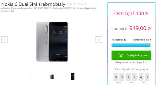 Promocja na Nokia 6/ fot. al.to