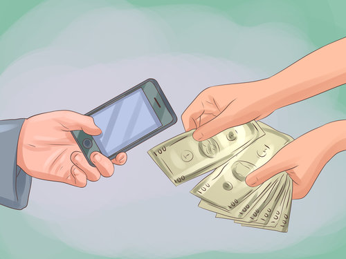 Fot. wikiHow (https://www.wikihow.com/Buy-a-Cell-Phone)