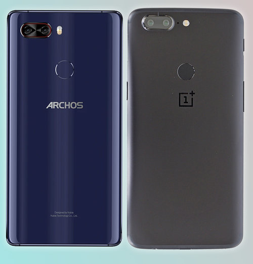 ARCHOS Diamond Omega vs OnePlus 5T 3
