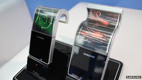 Elastyczny ekran/Fot. Samsung