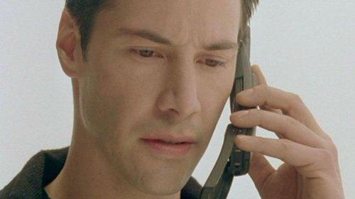 Nokia 8110 - kadr z filmu Matrix