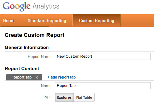 How To Create a Custom Report in Google Analytics by Customizing a - how to create a report
