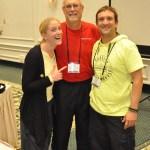 Carine Meunier, Tim Strawn & Eric Ferrazzi