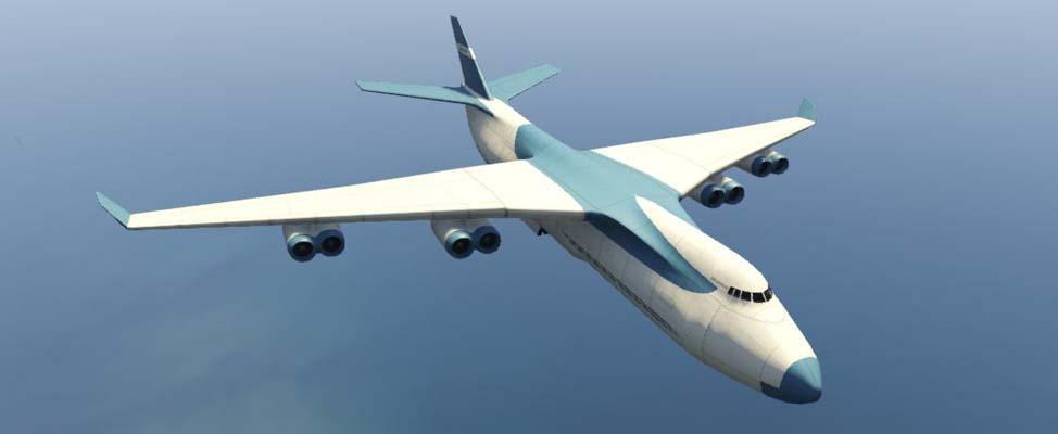 Cargo Plane - GTA V Vehicles Database - Grand Theft Auto V