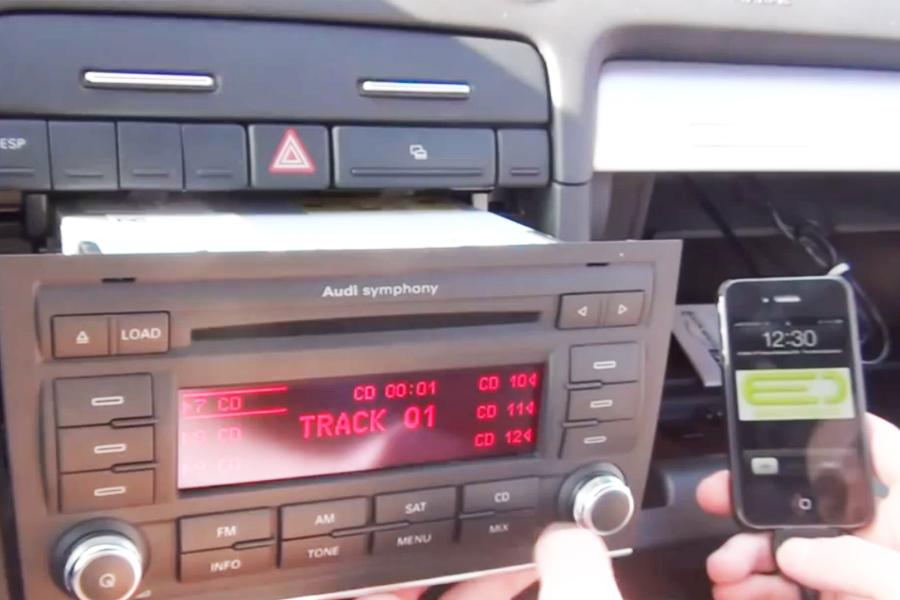Bluetooth and iPhone/iPod/AUX Kits for Audi A4 S4 2006-2008 \u2013 GTA