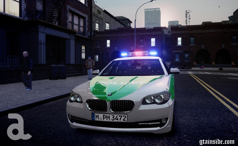 Wallpaper Gta San Andreas Hd Gta 4 Bmw 5 Series F10 Polizei German Police Els7