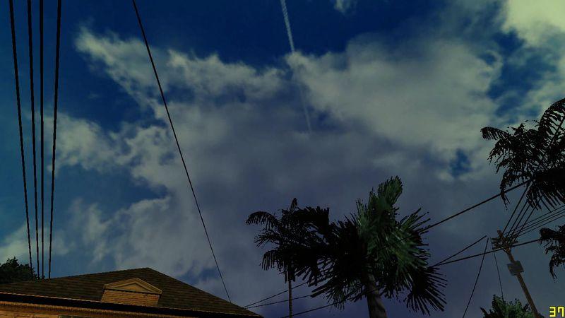 Wallpaper Gta San Andreas Hd Gta San Andreas Sky Hd Ultra Real Mod Gtainside Com