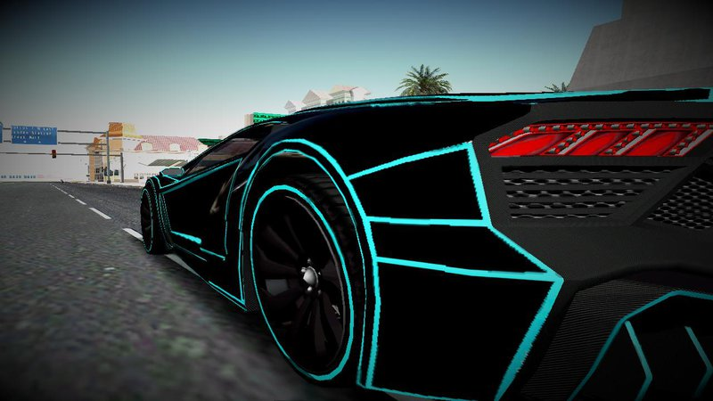 Gta 5 Cars Wallpaper Download Gta San Andreas Gta V Zentorno Tron Paintjob Mod