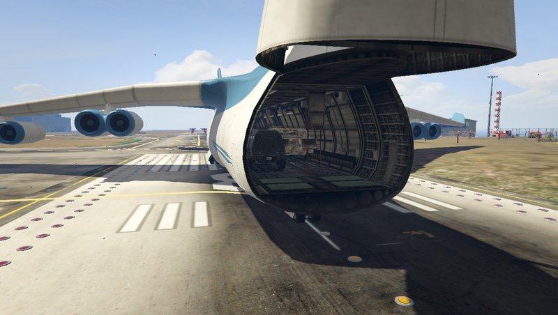 GTA 5 Cargo Plane Mod v13 Mod - GTAinside