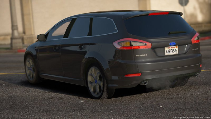 Gta 5 Cars Wallpaper Download Gta 5 2012 Ford Mondeo Mk4 Titaniumx Stationwagon Stock