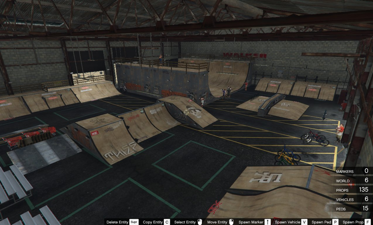 Gta Car Wallpaper Indoor Skatepark Mods Pour Gta V Sur Gta Modding