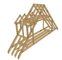 Get Attic truss with shed dormer